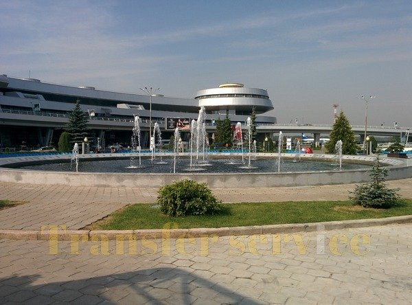 National Airport Minsk | Fountain
