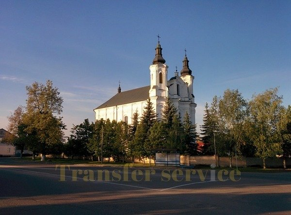 Church of St. Andrew the Apostle in Slonim