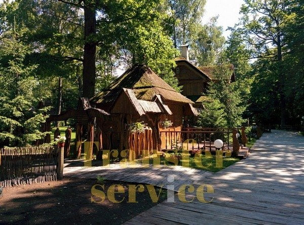 Residence of Ded Moroz in Belavezha Forest