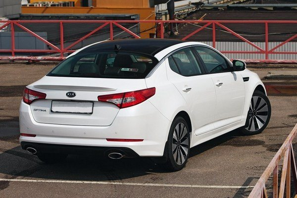 Kia Optima - transfer car image